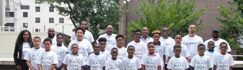 Volunteers for Black Boys Code